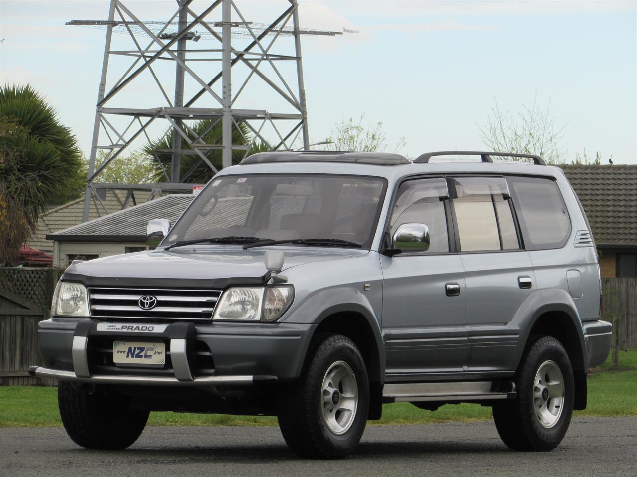 1997 Toyota Land Cruiser Prado only $84 weekly