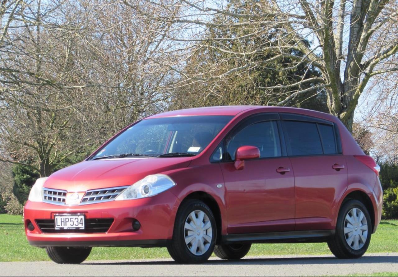2008 Nissan Tiida only $38 weekly